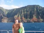 Cruise down Na Pali Coast